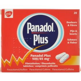 Panadol Plus Comprimés Pell 20