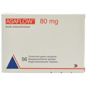 Asaflow 80 Mg Comprimés 56 X 80 Mg