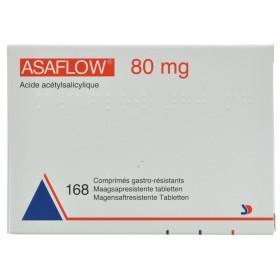 Asaflow Comprimés 168x 80mg