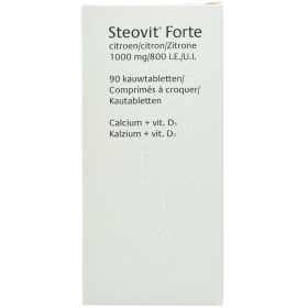 Steovit D3 1000mg/800 UI Comprimés 90