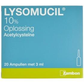 Lysomucil 10% Amp 20 X 300...