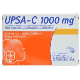 Upsa-c Eff 1 G Comprimés 20