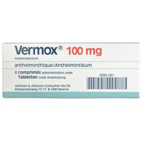 Vermox Comprimés 6x100mg