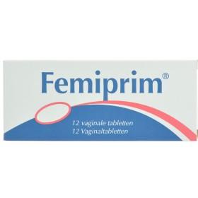 Femiprim Comprimés Vaginaux 12x250mg