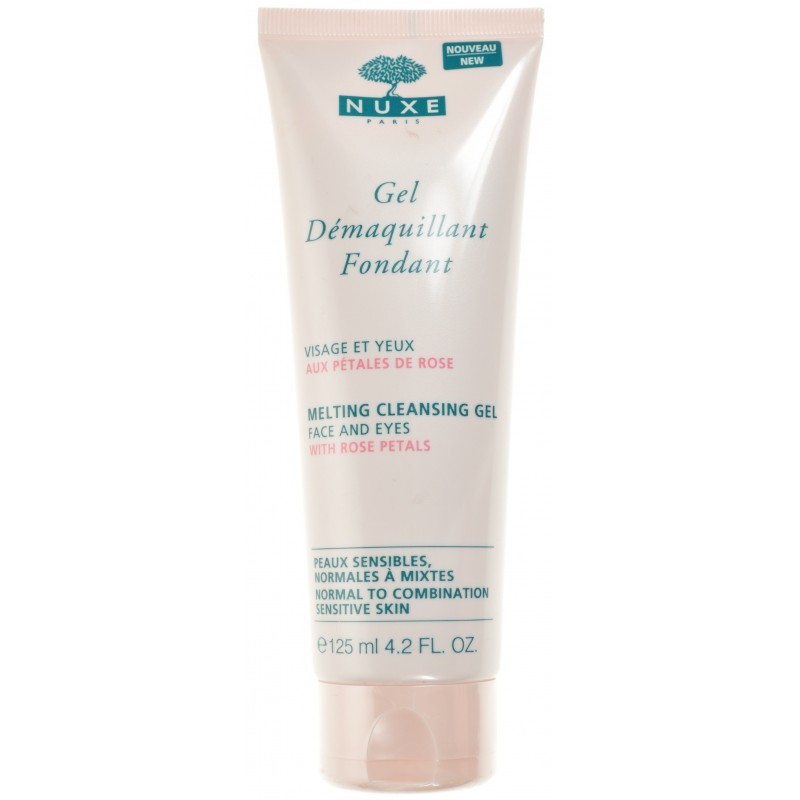 Nuxe Gel Demaquillant Fondant Tube 125ml