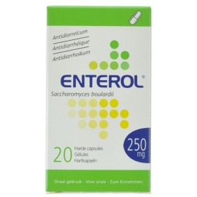 Enterol Caps 20 X 250 Mg