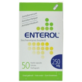 Enterol Caps 50 X 250 Mg
