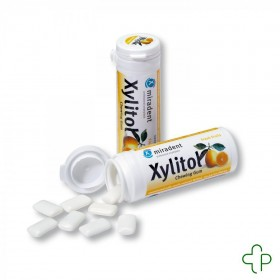 Miradent Chewing Gum Xylitol Fruits Sans sucre 30