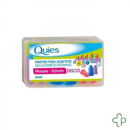 Quies Protection Auditive Mousse Disco 3 Paires