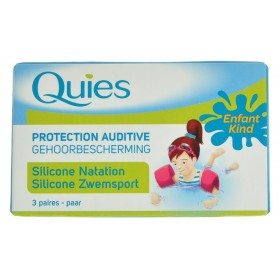 Quies Protection Auditive Silic Natation 3 Paires
