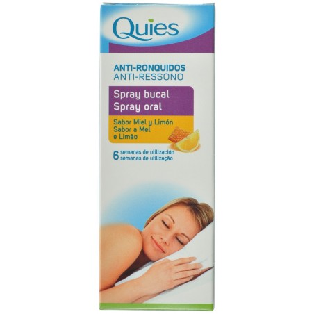 Quies Spray Buccal Anti Ronflement Miel-citron70ml