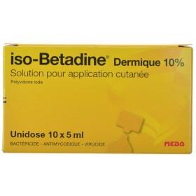 Iso Betadine Dermique 10% Unidose fl 10x5ml