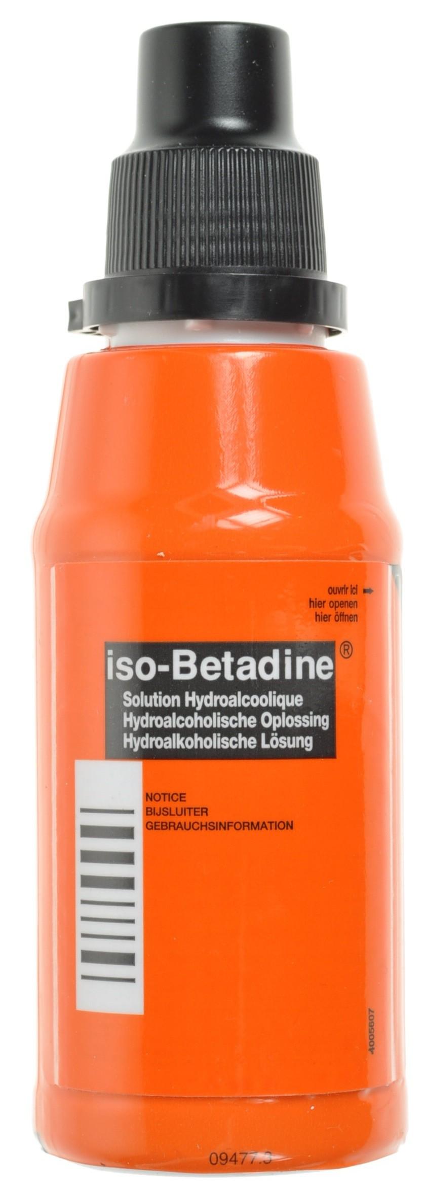 Iso Betadine Sol Hydroalc Fl 125 Ml 5