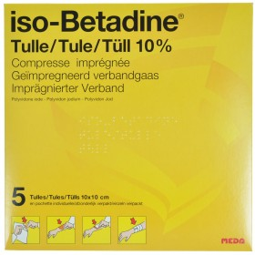 Iso Betadine Tulles Compr 5...