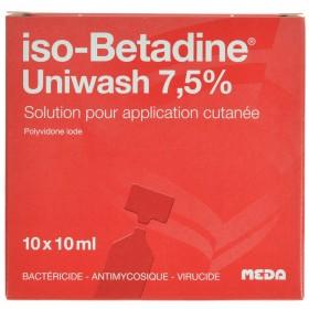 Iso Betadine Uniwash 10flx10ml