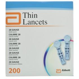Precision Thin Lancets 28g Steril 200 7084901