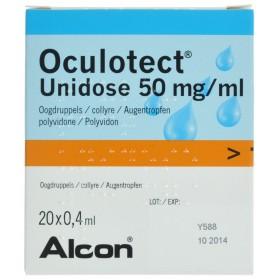 Oculotect Ud Gutt 8 ml 20 X...