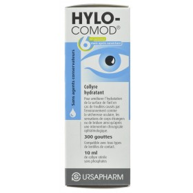 Hylo-comod Gutt Oculaires 10ml