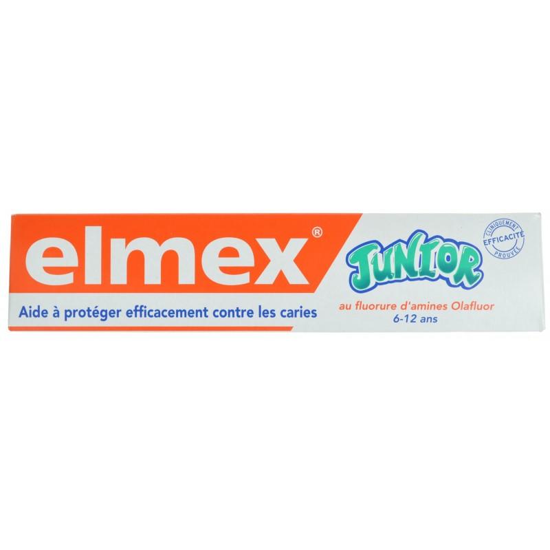 Elmex Dentifrice Junior 6-12 Ans 50ml